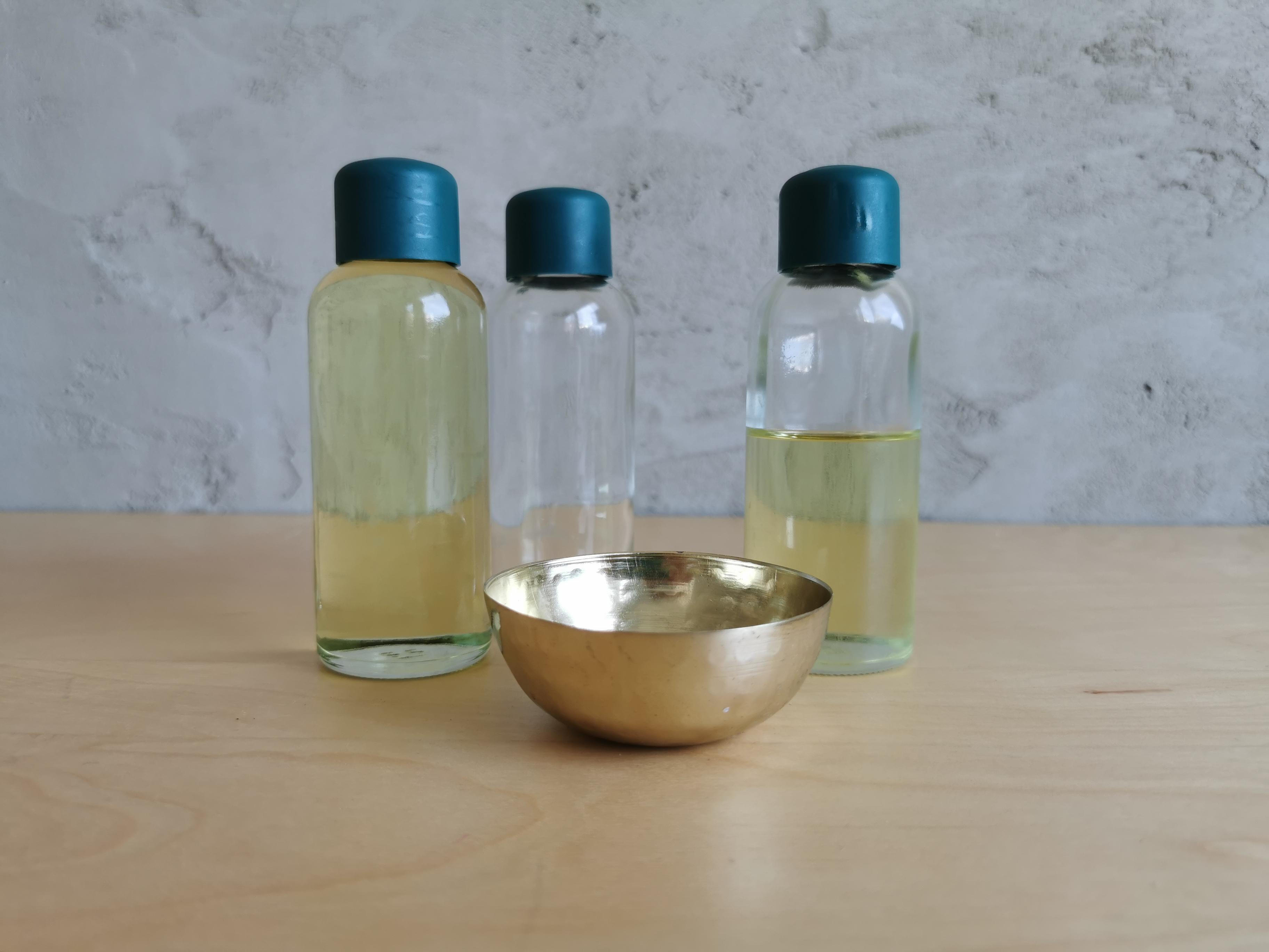 Massage Duft Öl - Symphonie aus Duft und Wärme