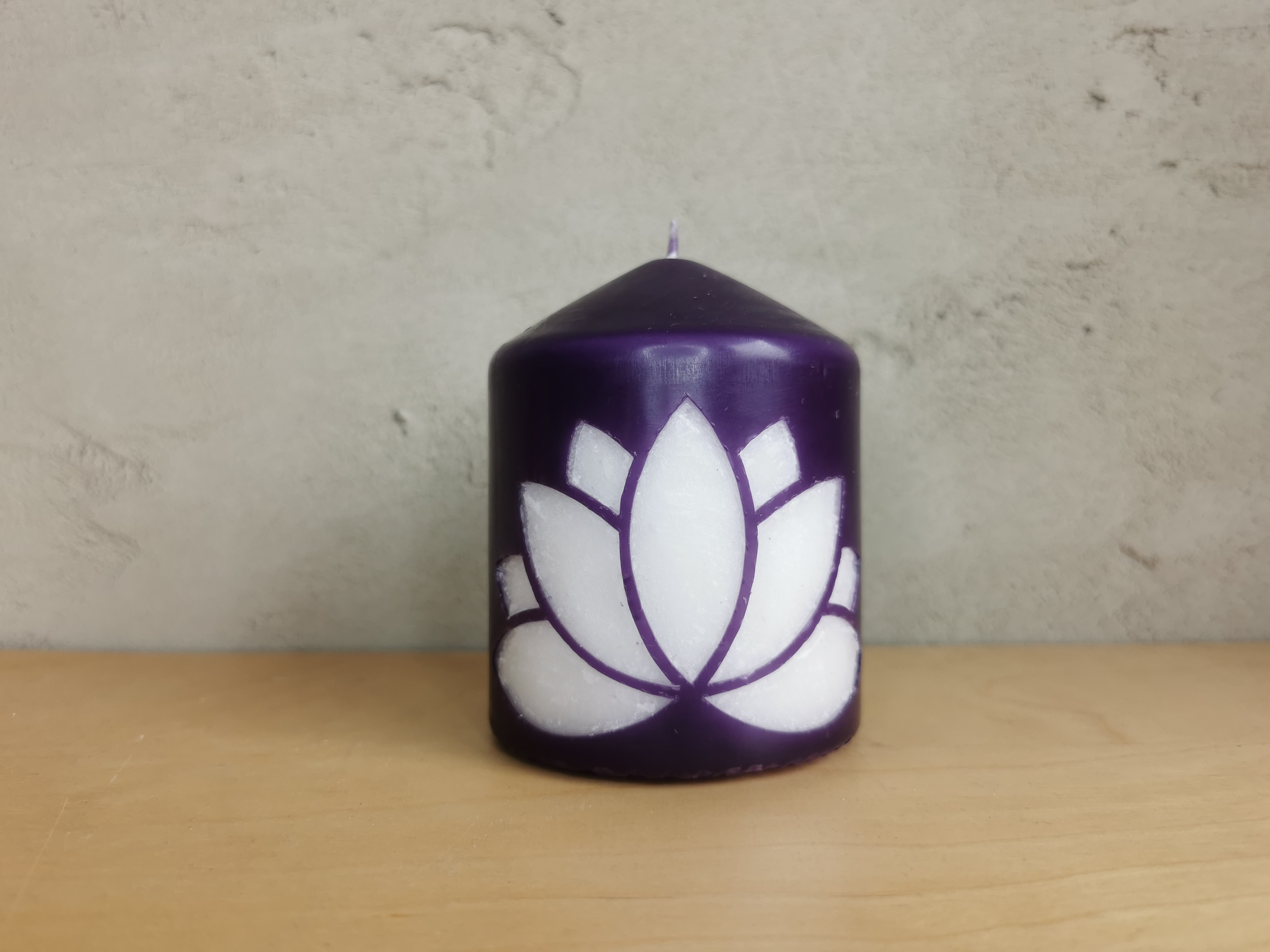 Ritual und Meditations- Kerze - das Feuer entzünden